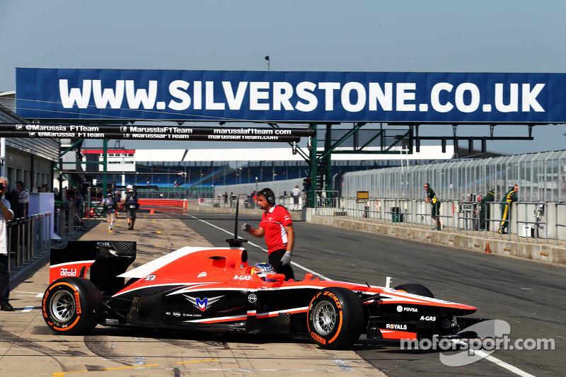 Tio Ellinas, Marussia F1 Team MR02 Test Driver