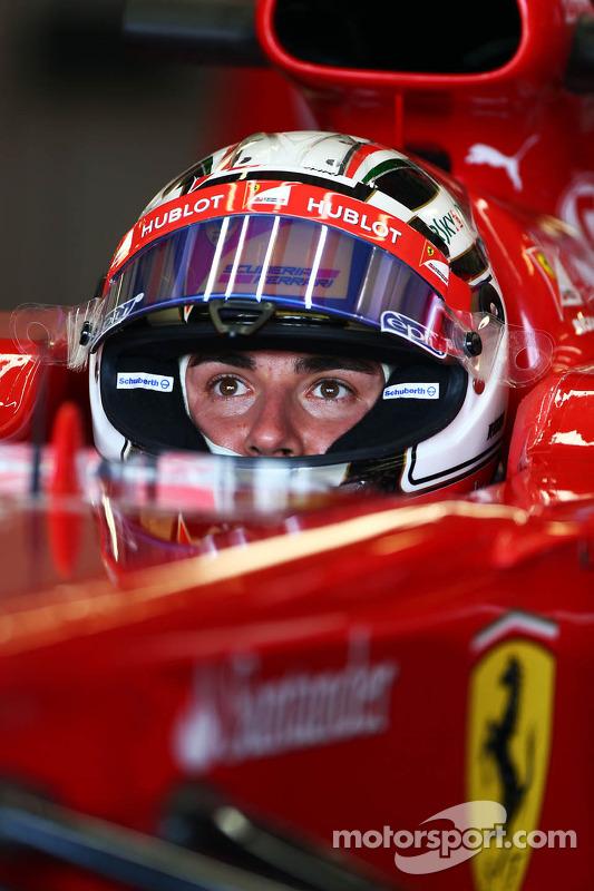 Davide Rigon, piloto de testes da Ferrari F2012