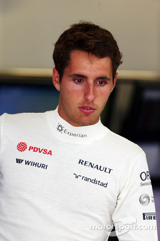 Daniel Juncadella, piloto de testes da Williams