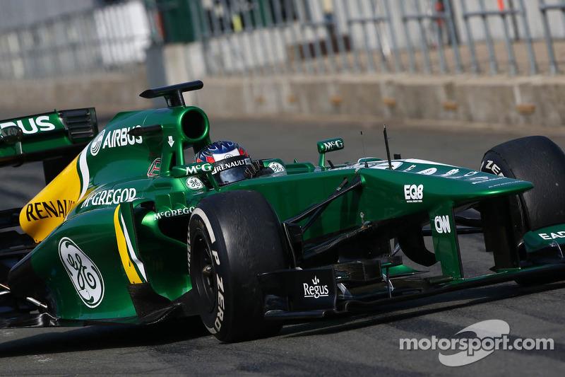 Equipes: Por falar em Marussia, mais duas escuderias estavam na temporada 2013 e que não compõem mais o grid atual: Caterham (foto) e a Lotus, que virou Renault em 2016.