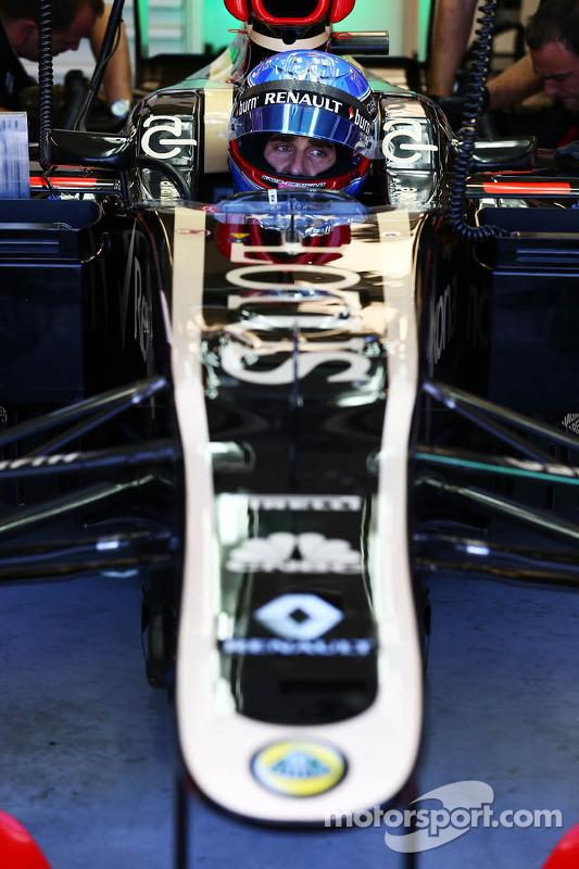 Nicolas Prost, Lotus F1 E21 piloto de testes