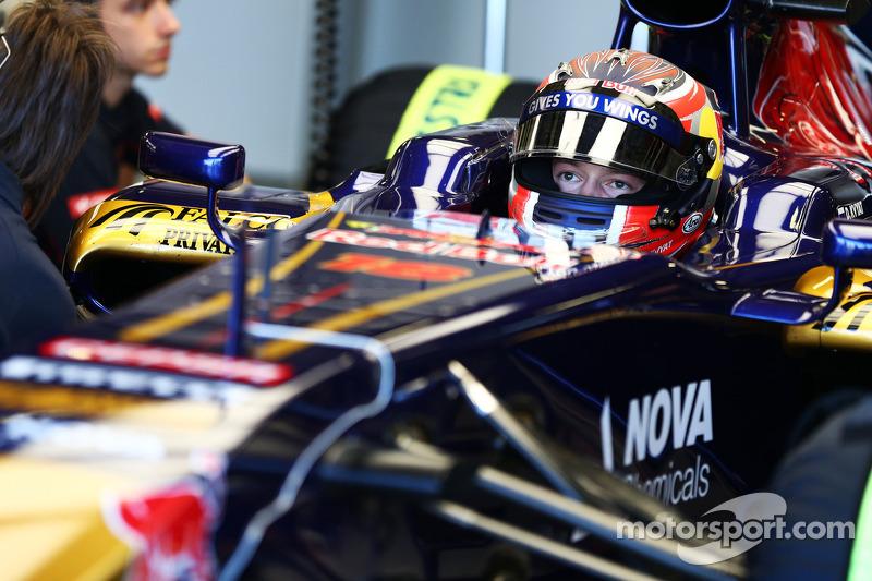 Daniil Kvyat, Scuderia Toro Rosso STR8 Test Driver