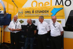 Aankondiging van de Opel 6 Stunden ADAC Ruhr Pokal Rennen