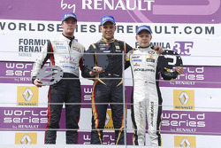 Podium: 1er Marco Sorensen, 2e Nigel Melker, 3e Kevin Magnussen