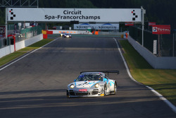 #34 Pro GT by Almeras, Porsche 997 GT3R: Eric Dermont, Franck Perera, Philippe Giauque, Morgan Moulin-Traffort