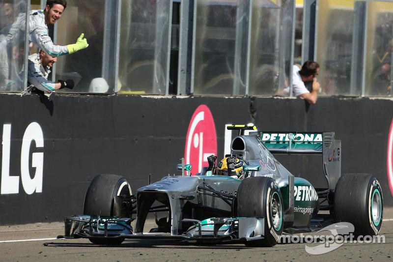 2013 Macaristan GP: Lewis Hamilton, Mercedes AMG F1