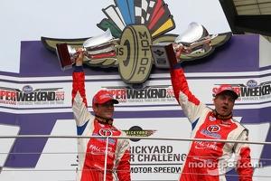 Race winners Bryan Sellers, Mark Boden