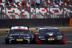 Bruno Spengler, BMW Team Schnitzer BMW M3 DTM y Edoardo Mortara, Audi Sport Team Rosberg Audi RS 5 D