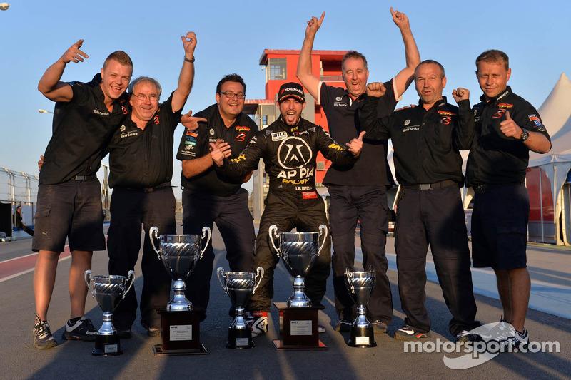 Jose Maria Lopez, BMW 320 TC, Wiechers-Sport racewinnaar