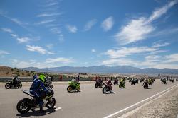 Zaterdag Sportbike race 1