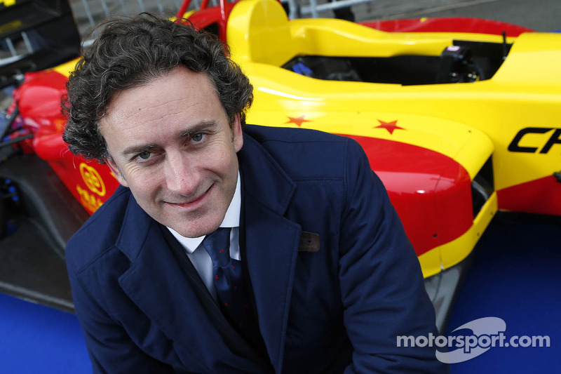 Alejandro Agag, CEO, Formula E Holdings, Formula E China Racing presentatie