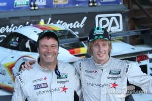 Winners #8 Starworks Motorsport BMW/Riley: Scott Mayer, Brendon Hartley