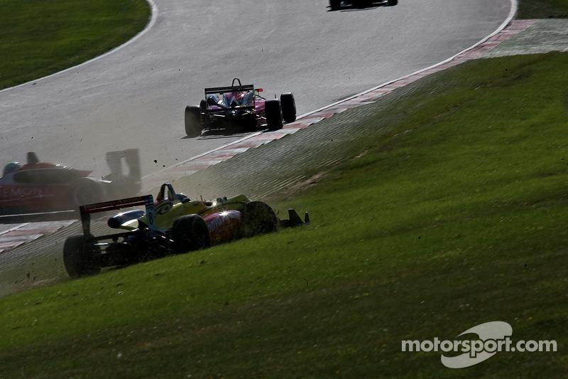 Antonio Giovinazzi crasht