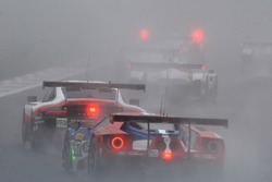 Racen in de mist