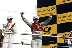 Подіум: друге місце та чемпіон 2017 року, Рене Расt, Audi Sport Team Rosberg, Audi RS 5 DTM