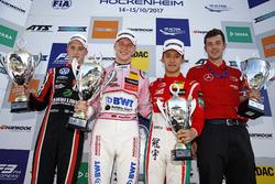 Подиум: победитель Максимилиан Гюнтер, Prema Powerteam, второе место – Джоэль Эрикссон, Motopark, третье место – Гуанью Чжоу, Prema Powerteam