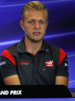 Kevin Magnussen, Haas F1 Basın Toplantısı