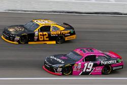 Matt Tifft, Joe Gibbs Racing Toyota and Brendan Gaughan, Richard Childress Racing Chevrolet