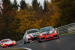 Marcel Hoppe, Thorsten Jung, Dirk Vleugels, Porsche Cayman GT4 Clubsport