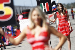 Grid Girl for Sergio Perez, Force India