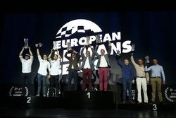 P3 Winners: #3 United Autosports, Ligier JS P3 - Nissan: Mark Patterson, Wayne Boyd, Christian England, #18 M.Racing - YMR, Ligier JS P3 - Nissan: Alexandre Cougnaud, Antoine Jung, Romano Ricci, #3 United Autosports, Ligier JS P3 - Nissan: Mark Patterson, Wayne Boyd, Christian England