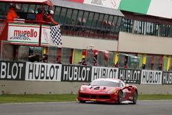Race winner #199 Ferrari of Vancouver Ferrari 488: Wei Lu