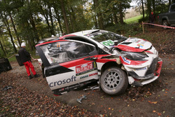 Машина Юхо Хяннінена та Кая Ліндстрьома, Toyota Yaris WRC, Toyota Racing after the crash