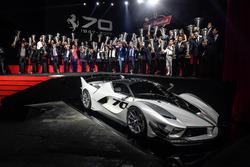 Ferrari FXXK Evo tanıtımı