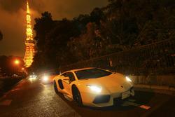 Lamborghini, 50 anni in Giappone