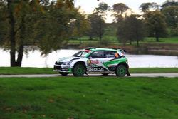 Juuso Nordgren, Tapio Suominen, Skoda Fabia R5, Skoda Motorsport