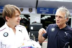 Augusto Farfus, BMW Team Schnitzer, BMW M6 GT3, Charly Lamm, Team manager BMW Team Schnitzer
