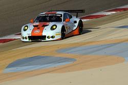 #86 Gulf Racing Porsche 911 RSR: Michael WainwrightI, Ben Barker, Nick Foster