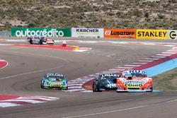 Lionel Ugalde, Ugalde Competicion Ford, Esteban Gini, Alifraco Sport Chevrolet, Gaston Mazzacane, Coiro Dole Racing Chevrolet