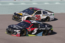 Kasey Kahne, Hendrick Motorsports Chevrolet Ryan Newman, Richard Childress Racing Chevrolet