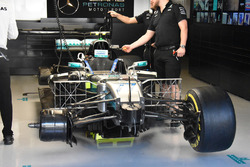 Car of Valtteri Bottas, Mercedes AMG F1 W08