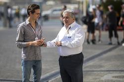 Esteban Gutierrez, Enzo Spano, FIA Steward