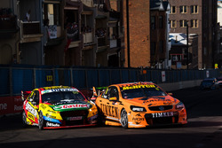 Nick Percat, Brad Jones Racing Holden, Chaz Mostert, Rod Nash Racing Ford