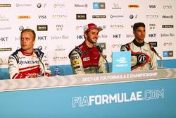 Felix Rosenqvist, Mahindra Racing,Daniel Abt, Audi Sport ABT Schaeffler, Edoardo Mortara, Venturi Formula E, in the press conference