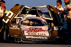 1. Bob Wollek, Derek Bell and John Andretti, Porsche 962