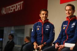 Hyundai WRC driver Hayden Paddon and co-driver Sebastian Marshall talk to Henry Hope-Frost on the Autosport Stage