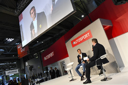 Marc Gene talks to Henry Hope-Frost on the Autosport Stage