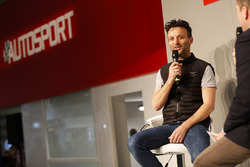 Darren Turner talks to Henry Hope-Frost on the Autosport Stage