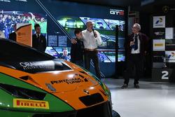 Armando Donazzan, Orange1 Racing owner and young novelist Alessandro 'Spiz' Vezzani
