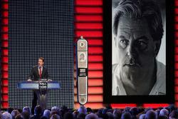Brad Keselowski inducts Robert Yates to the Hall of Fame