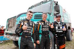 Тон ван Генугтен, Бернард Дер Киндерен и Петер Виллемсен, Petronas Team de Rooy Iveco, Iveco Powerstar (№509)