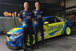 Steve Richards and Cameron Hill, BMW Team SRM