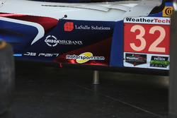 سيارة رقم 32 فريق يونايتد أوتوسبورت: ويليام أوين وهوغو دو ساديلير وبرونو سينا وبول دي ريستا