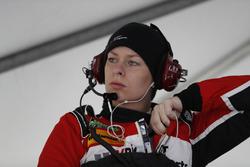 #58 Wright Motorsports Porsche 911 GT3 R, GTD: Christina Nielsen