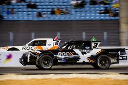 Yazeed Al-Rajhi of Team Saudi Arabia driving the Xtreme Pickup