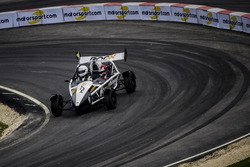 Helio Castroneves of Team Latin America driving the Ariel Atom Cup